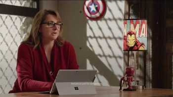 Microsoft Surface Pro 4 TV Spot, \'Marvel Studios Executive Producer\'