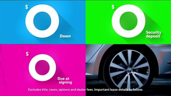 Volkswagen Sign Then Drive Event TV Spot, 'Road Zeros'