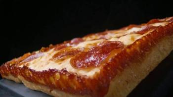 Little Caesars Pepperoni & Cheese Stuffed Crust Pizza TV Spot, 'Rewind' - Thumbnail 1
