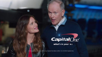 Capital One Venture Card TV Spot, \'Dad\' Featuring Jennifer Garner