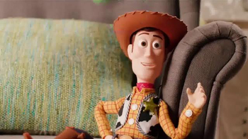 Talking Buzz Lightyear & Woody TV Spot, 'Create a Toy Story'