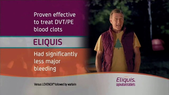 ELIQUIS TV Spot, 'DVT and PE Blood Clots: Camping' - Thumbnail 10