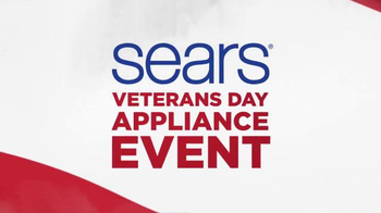 Sears Veterans Day Appliance Event TV Spot, 'Hot Buys' - Thumbnail 1