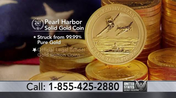 Pearl Harbor Solid Gold Coin thumbnail