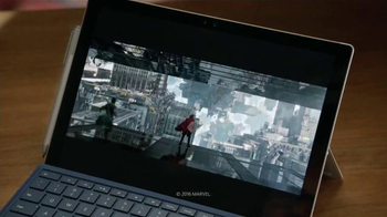Microsoft Surface Pro 4 TV Spot, 'Productora de Marvel Studios' [Spanish]