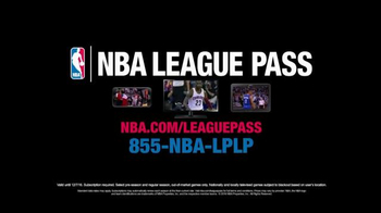 NBA League Pass TV Spot, 'Game Time' Featuring Kyrie Irving, Klay Thompson - Thumbnail 7
