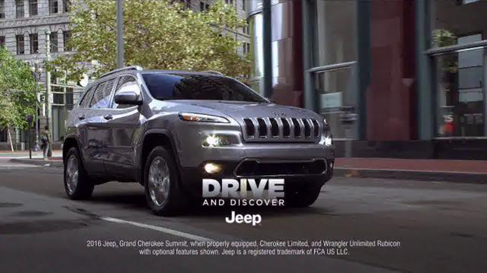 Jeep Drive and Discover Sales Event TV Commercial, '2016 ...