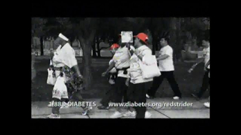 American Diabetes Association TV Spot, 'Red Strider'