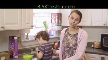 45cash TV Spot, 'Cash Fast'