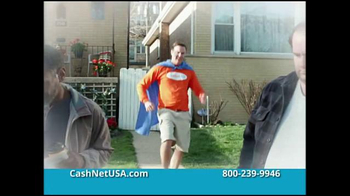 CashNetUSA TV Spot, \'The Origin of CashNetUSA.com Man\'