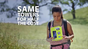 Straight Talk Wireless TV Spot, 'Coverage on the Same Towers, For Less!'