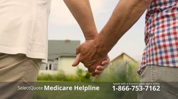 Select Quote TV Spot, 'Medicare Helpline'