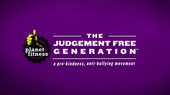 Planet Fitness TV Spot, 'Judgment-Free Generation'