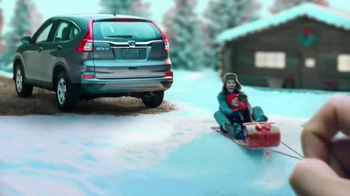 Happy Honda Days Sales Event TV Spot, \'Great Outdoors CR-V\'