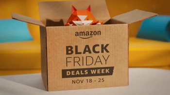 Amazon Black Friday Deals Week TV Spot, 'Day in the Life'