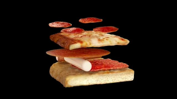 Little Caesars Pepperoni & Cheese Stuffed Crust Pizza TV Spot,'Super Crust'