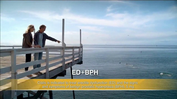 Cialis TV Spot, 'Strolling the Beach'
