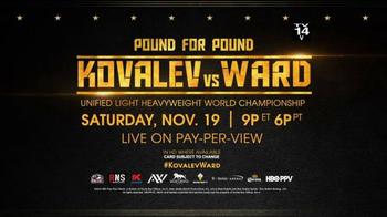 Boxing: Kovalev vs. Ward thumbnail