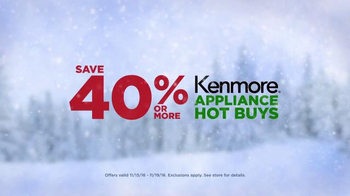 Appliance Event: Kenmore Hot Buys & More thumbnail