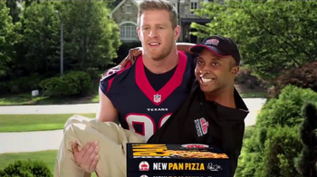 Papa John\'s Pan Pizza TV Spot, \'Carry\' Featuring Peyton Manning, J.J. Watt