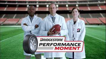 Bridgestone TV Spot, 'NFL: Performance Moment' - 1 commercial airings