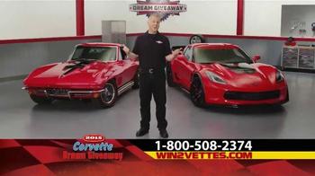 2015 Corvette Dream Giveaway TV Spot, 'Get Double Tickets'