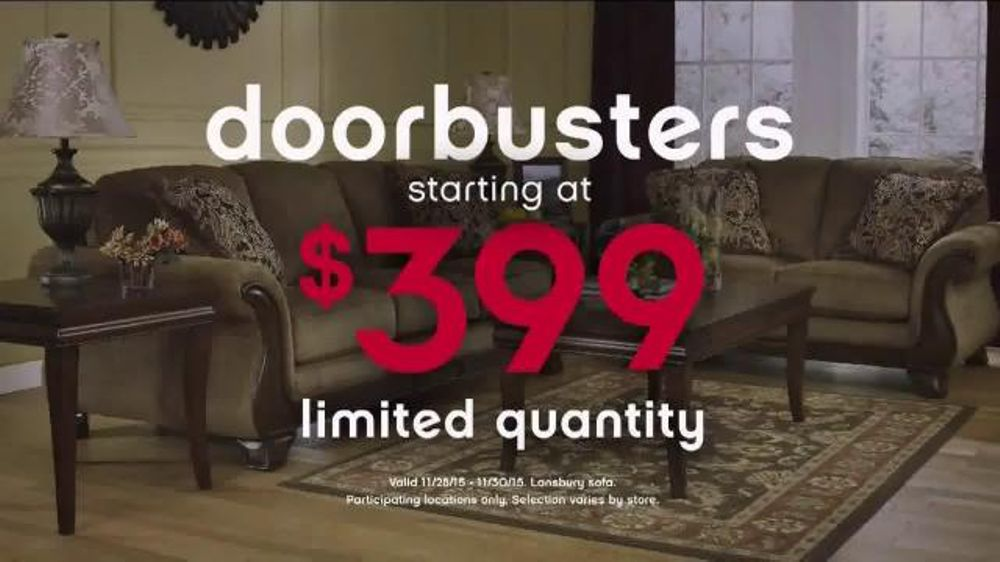 Ashley Furniture Homestore Black Friday 36 Hour Sale TV Commercial   More  Time    iSpot tv. Ashley Furniture Homestore Black Friday 36 Hour Sale TV Commercial