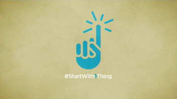 StartWith1Thing.com TV Spot