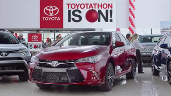 Toyota Toyotathon TV Spot, 'Together With Corolla, Camry and RAV4' - 257 commercial airings