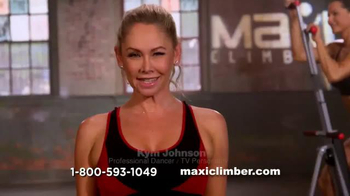 MaxiClimber TV Spot, \'Burn More Calories\' Featuring Kym Johnson