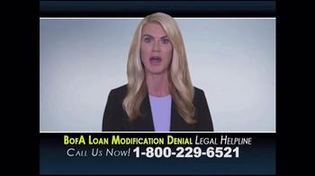 Aylstock, Witkin, Kreis & Overholtz Law TV Spot, 'Bank of America Loan'