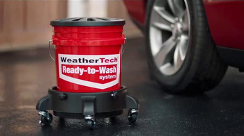 WeatherTech Ready-to-Wash System TV Spot, 'Wheels to Windshield'