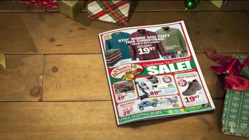 Bass Pro Shops Countdown to Christmas Sale TV Commercial, 'Thermal ...