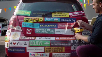 Removing Bumper Stickers thumbnail
