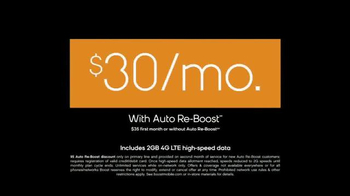 Boost Mobile TV Spot, 'Unlimited World: Auto Re-Boost' - Thumbnail 8