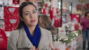 ACE Hardware TV Spot, 'Wrap It in Red: Patti's Husband' - 984 commercial airings