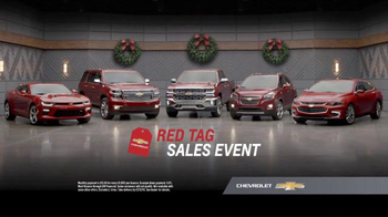 Chevrolet Red Tag Sales Event TV Spot, 'Santa'
