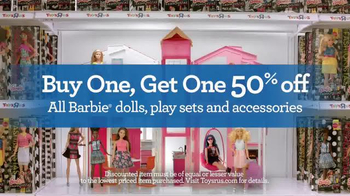 Toys R Us TV Spot, 'Barbie is Too Excited'