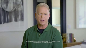 Tommie Copper TV Spot, '2016 Holidays: Better Life' Feat. Boomer Esiason