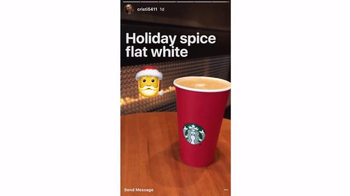 Starbucks TV Spot, 'Holiday Craft: Christi's Holiday Spice Flat White'