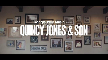Google Play TV Spot, 'Rooted in Music: Quincy Jones and Son' Song by 2Pac