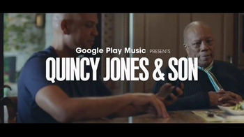 Google Play Music TV Spot, \'Quincy Jones & Son\' Song by Kendrick Lamar