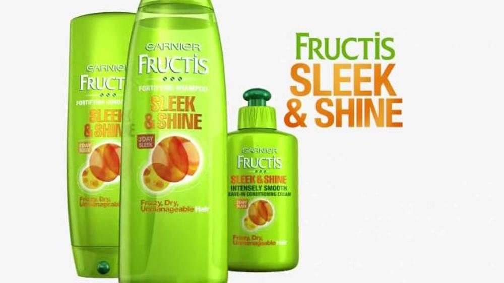 garnier fructis sleek amp shine tv commercial stronger