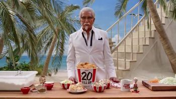 KFC TV Spot, 'Lifestyle' Featuring George Hamilton - Thumbnail 4