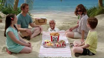 KFC $20 Family Fill Up TV Spot, 'Fun in the Sun' Featuring George Hamilton