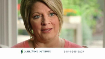 Laser Spine Institute TV Spot, 'Feel an Answer'