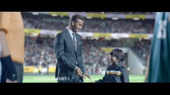 Sprint TV Spot, 'Whistle: Galaxy Tab' Featuring David Beckham - 12 commercial airings