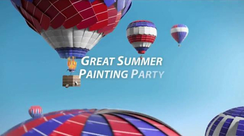 Sherwin-Williams Great Summer Painting Party TV Spot, 'Hot Air Balloons'