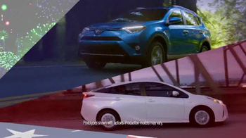 Toyota Red, White & Blue Sales Event TV Spot, 'Life, Liberty, Great Deals'