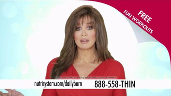 Nutrisystem Turbo10 TV Spot, 'Daily Burn' Featuring Marie Osmond